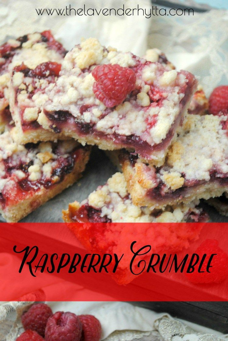 Raspberry Crumble | Raspberries | Dessert | Recipe | Fresh