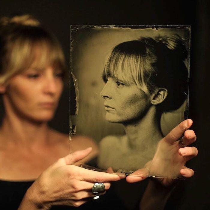 Este fotógrafo usó una cámara de hace 160 años para hacer retratos…