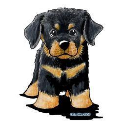 Cartoon Rottweiler Pictures Rottweiler Puppy Oval Ornament Jpg