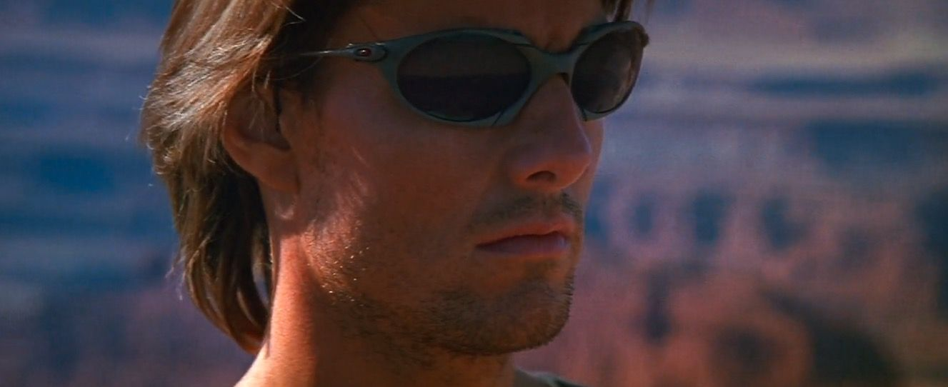 ca9e73c07d8 Oakley Romeo sunglasses worn by Tom Cruise in MISSION  IMPOSSIBLE II (2000)   Oakley