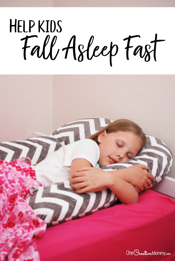 The Simplest Way To Help Kids Fall Asleep Fast How To Fall