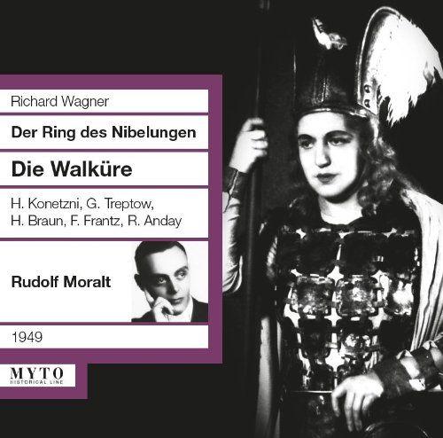Wagner Moralt Die Walkure Konetzni Treptow Products