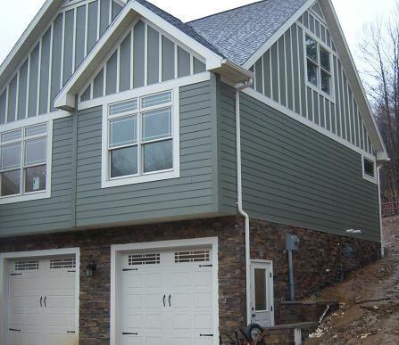 Pin By Julie Beamer On Dream Home White Garage Doors