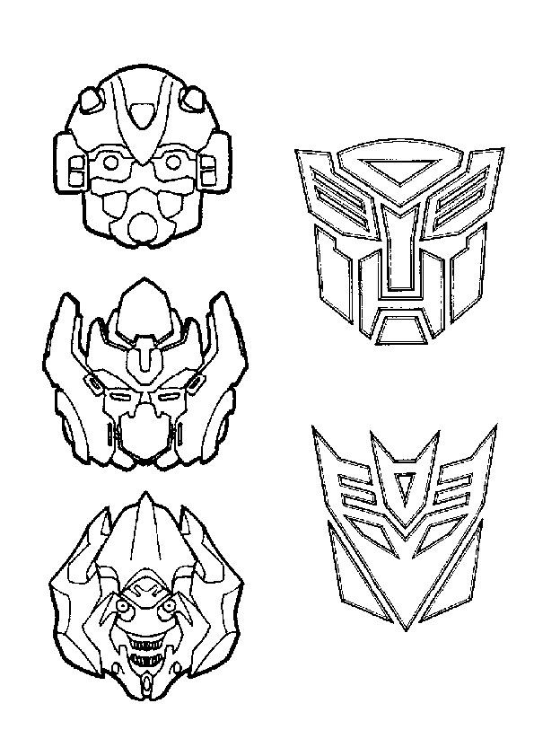 print coloring image | Coloring-Transformers | Pinterest | Cumple
