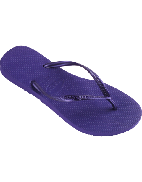 Havaianas Slim Ice Violet Flip Flop - Slim Ice Violet havaianas flip flops  are new for 2013 and one of our best sellers. The range in size and have  the ...