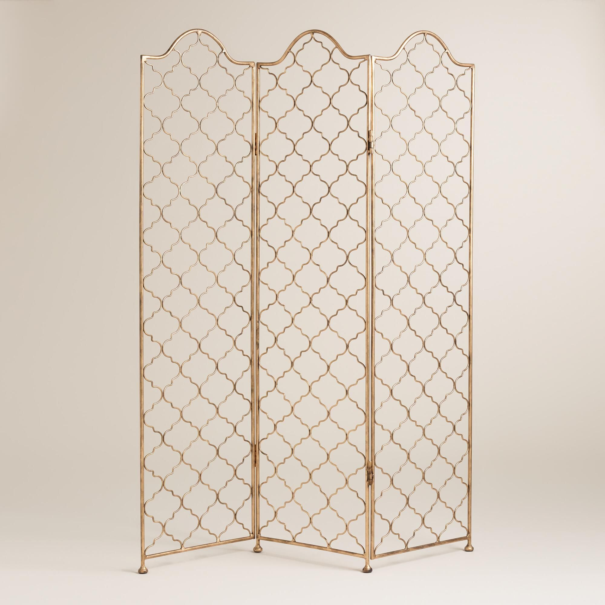 An eclectic room divider our boho chic screen features three hinged
