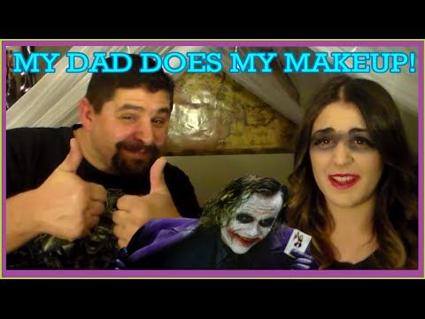 My Dad Does My Makeup...Terribly!