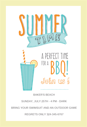 Bbq Time Bbq Party Invitation Template Free Greetings Island Party Invite Template Cocktail Party Invitation Bbq Party Invitations