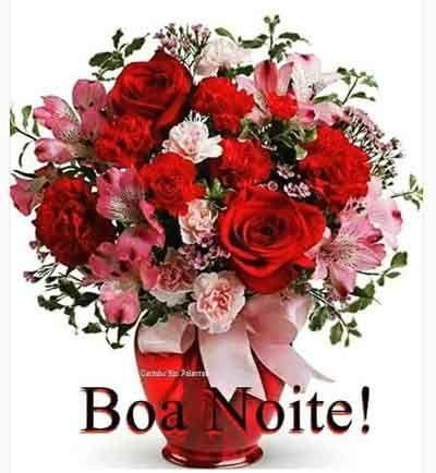 Imagens E Fotos Com Mensagens De Boa Noite Para Whatsapp Flores