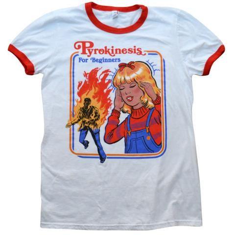 cada48fe8 Let's Summon Demons Ringer Shirt.