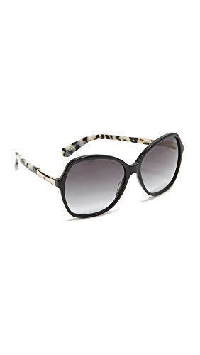 Kate Spade Women's Jolyn Square Sunglasses, Black Gold/Gray Gradient, 58 mm http://stylexotic.com/kate-spade-womens-jolyn-square-sunglasses-black-goldgray-gradient-58-mm/