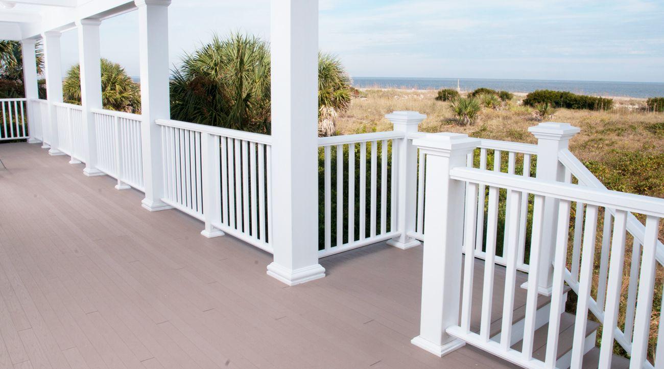 Best Pvc Decking Trim Porch Railings Best Composite 400 x 300