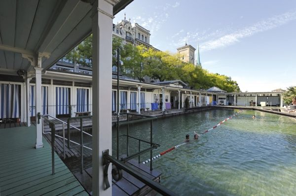 Ladies only lido, Zurich.| swiss-architects.com