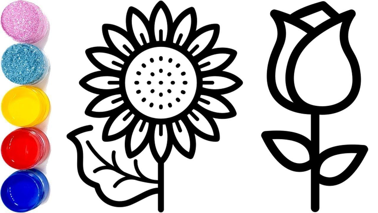 10 Flowers Drawing Easy For Kids How To Draw A Flower Easy Coloring Pages Toy Art Simple Flower Drawing Flower Drawing Flower Drawing Tutorials