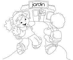 Resultado De Imagen Para Jardin Infantil Dibujo Arte Preescolar Dia De Los Jardines Dibujos