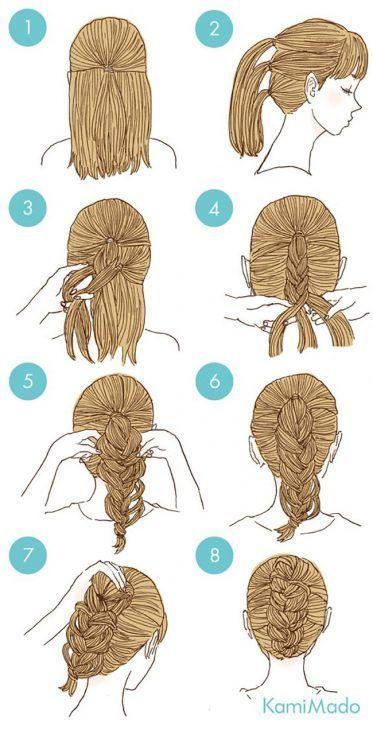 65 coiffures faciles et mignonnes qui peuvent être faites en quelques minutes  – Hair - Pour Vous