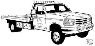 Tow Truck Black And White Google Search Truck Coloring Pages Cars Coloring Pages Coloring Pages