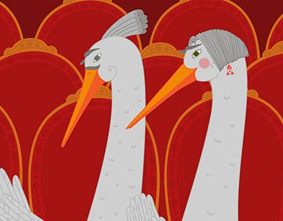"Check out new work on my @Behance portfolio: ""spouses cranes"" http://on.be.net/1OCBigA"