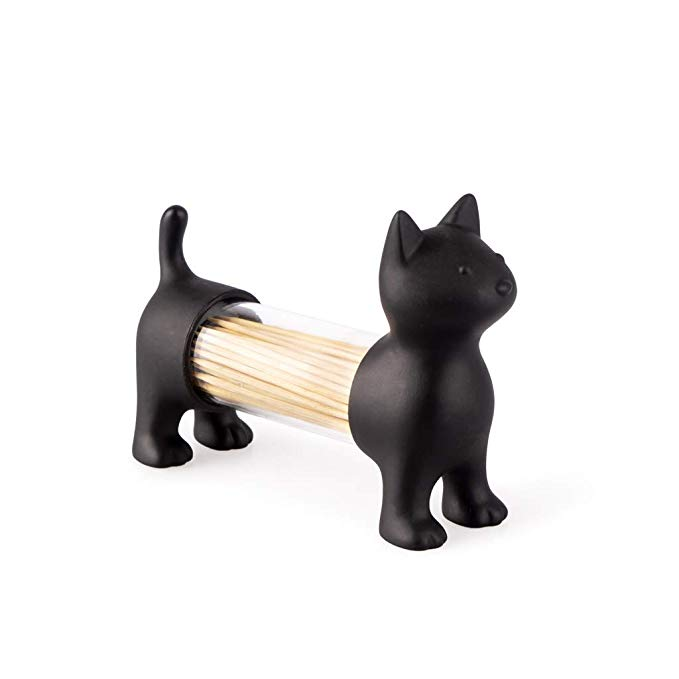 Saliera e pepiera a forma di gatto