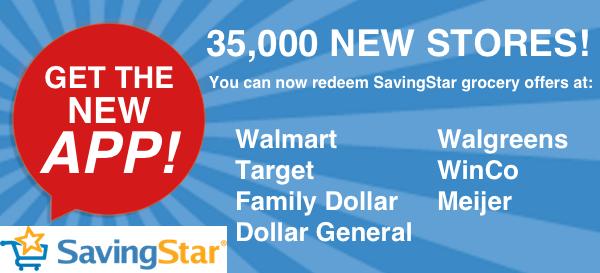 SavingStar Has Added New Stores! | Closet of Free Samples | Closet of Free Samples | Get FREE Samples by Mail | Free Stuff | closetsamples.c...