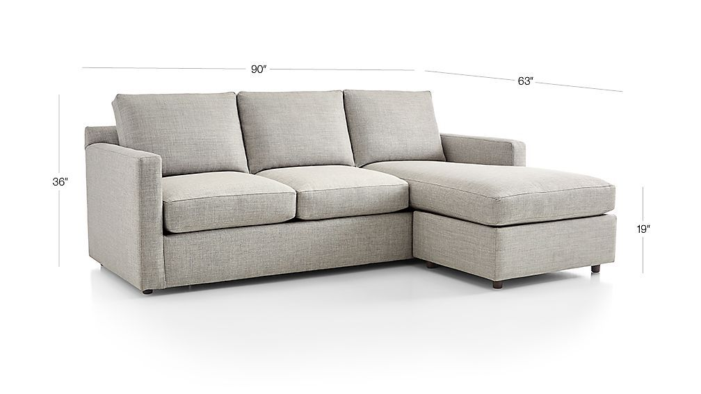 Awe Inspiring Barrett Reversible Sectional In 2019 Crate Barrel Squirreltailoven Fun Painted Chair Ideas Images Squirreltailovenorg