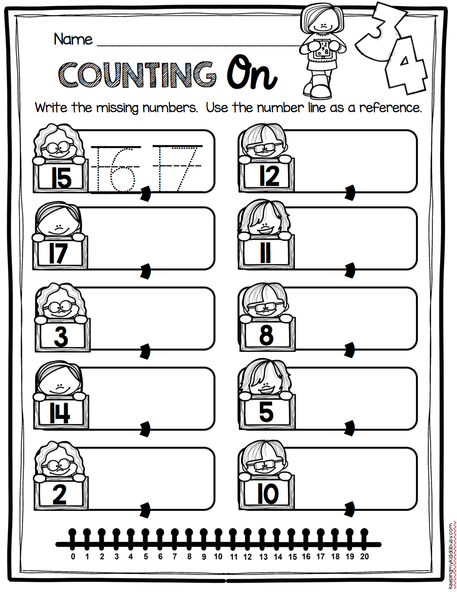 medium resolution of Counting and Cardinality FREEBIES — Keeping My Kiddo Busy   Kindergarten  math units