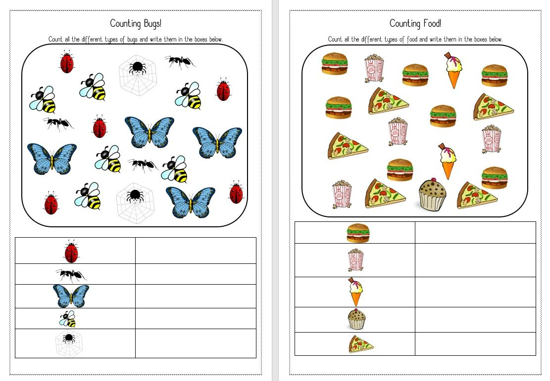 Counting Bugs Worksheets These Are Colorful Worksheets