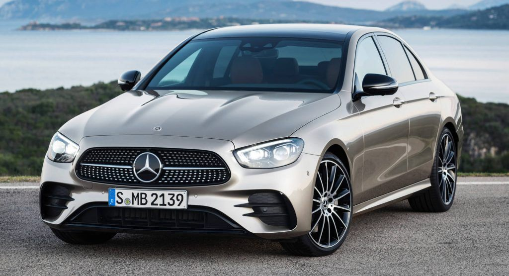 Mercedes Benz Gives 2021 E Class A Face And Tail Lift Along With