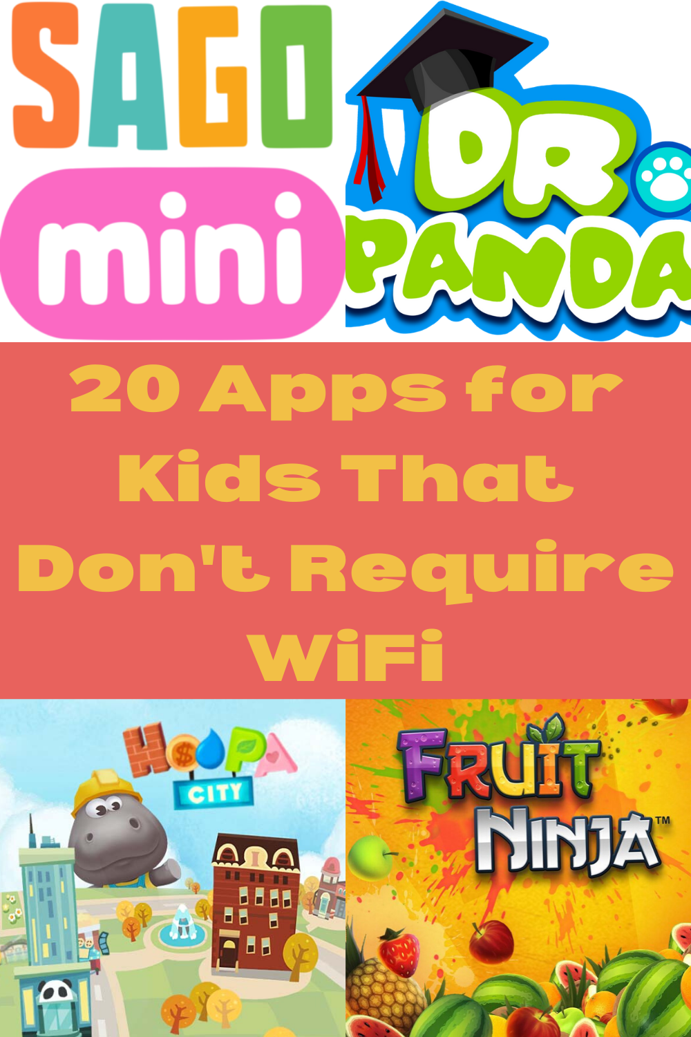 The Best Apps for Kids That Don't Require WiFi Family
