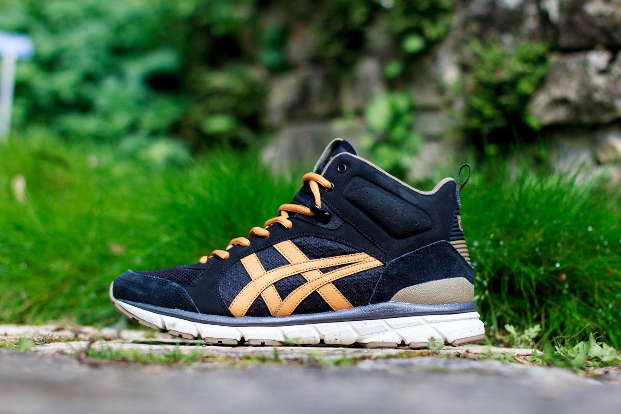 ASICS Onitsuka Tiger Harandia Trainer Jogging Scarpe Sneaker Mid Blue/Navy