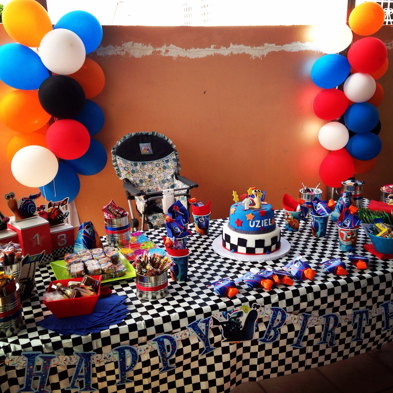 Turbo Snail Birthday Decoration Birthday Party Supplies