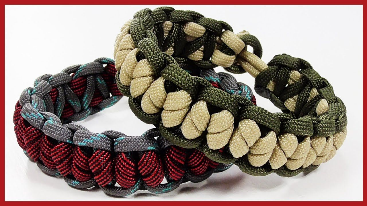 Paracord Bracelet Crooked Falls Solomon Bar Bracelet Design