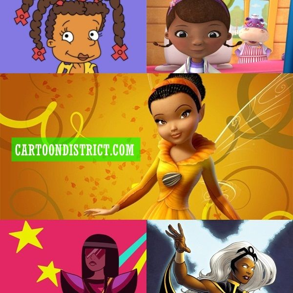 4 Popular Cartoon Characters With Dark Pasts : Famous black female cartoon characters