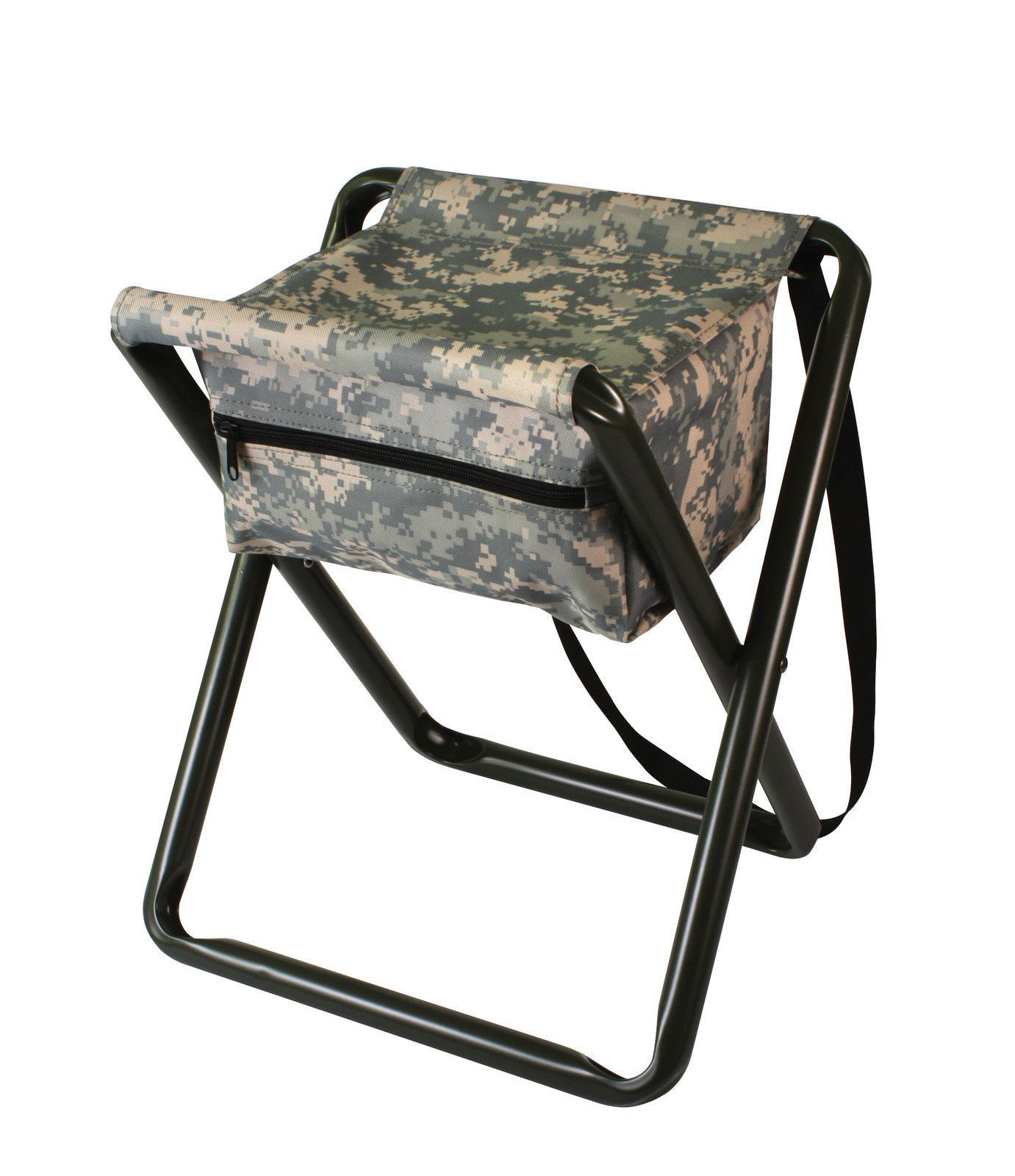 Swell Deluxe Camo Folding Camp Stool W Pouch Woodland Acu Pdpeps Interior Chair Design Pdpepsorg
