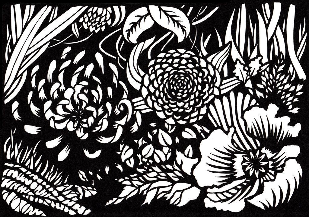 So many flowers paper cutting by jillianedward papercut so many flowers paper cutting by jillianedward mightylinksfo