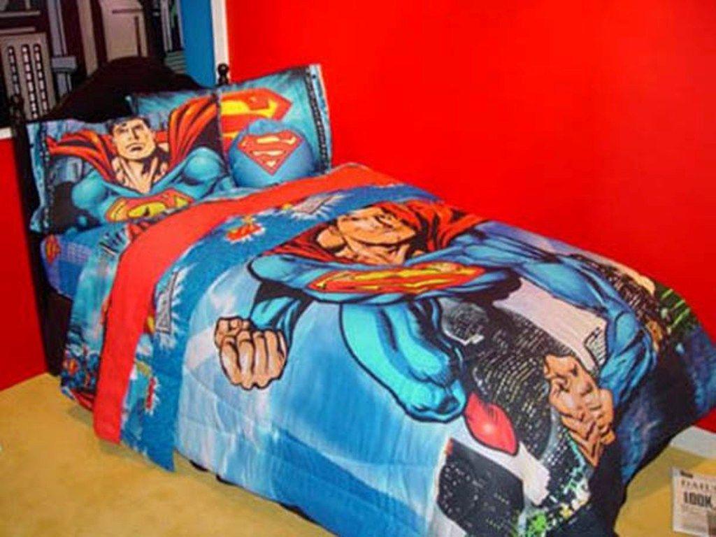 Super Helden Bettwasche Schlafzimmer Bett Jungen Bettwasche