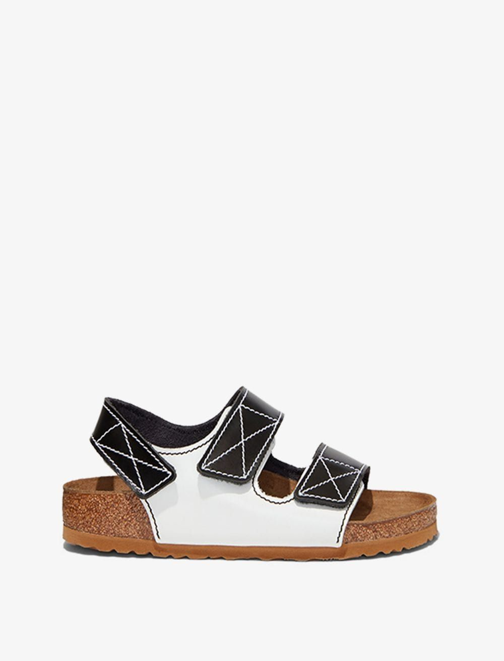 Black/White Furs & Skins->Leather Birkenstock x Proenza Schouler Milano Sandals from Proenza Schouler.