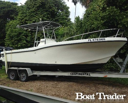 2007 Dusky Marine 23 3 with twin outboard Mercury Optimax