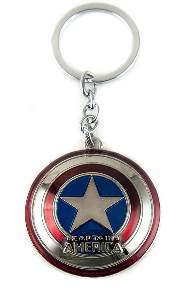 New Captain America Avengers Shield MARVEL Key Ring Toy Gift Accessory UK