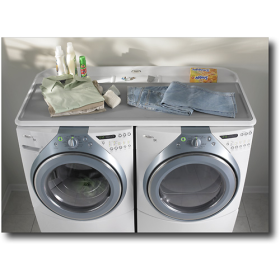 Whirlpool Laundry 123 Work Surface Great Top To Protect Your Front Loading Washer And Dryer