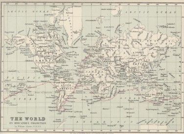 Map Of The Voyage Route To Be Used Graphically We D Need To