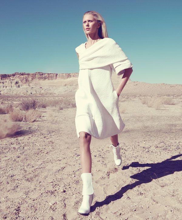 f26dfb745990 White Clothing Trend - White Clothing Spring 2013 Fashion Editorial -  Harper s BAZAAR