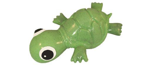 Cycle Dog 3play Turtle Dog Toy Ecolast Post Consumer Recycled