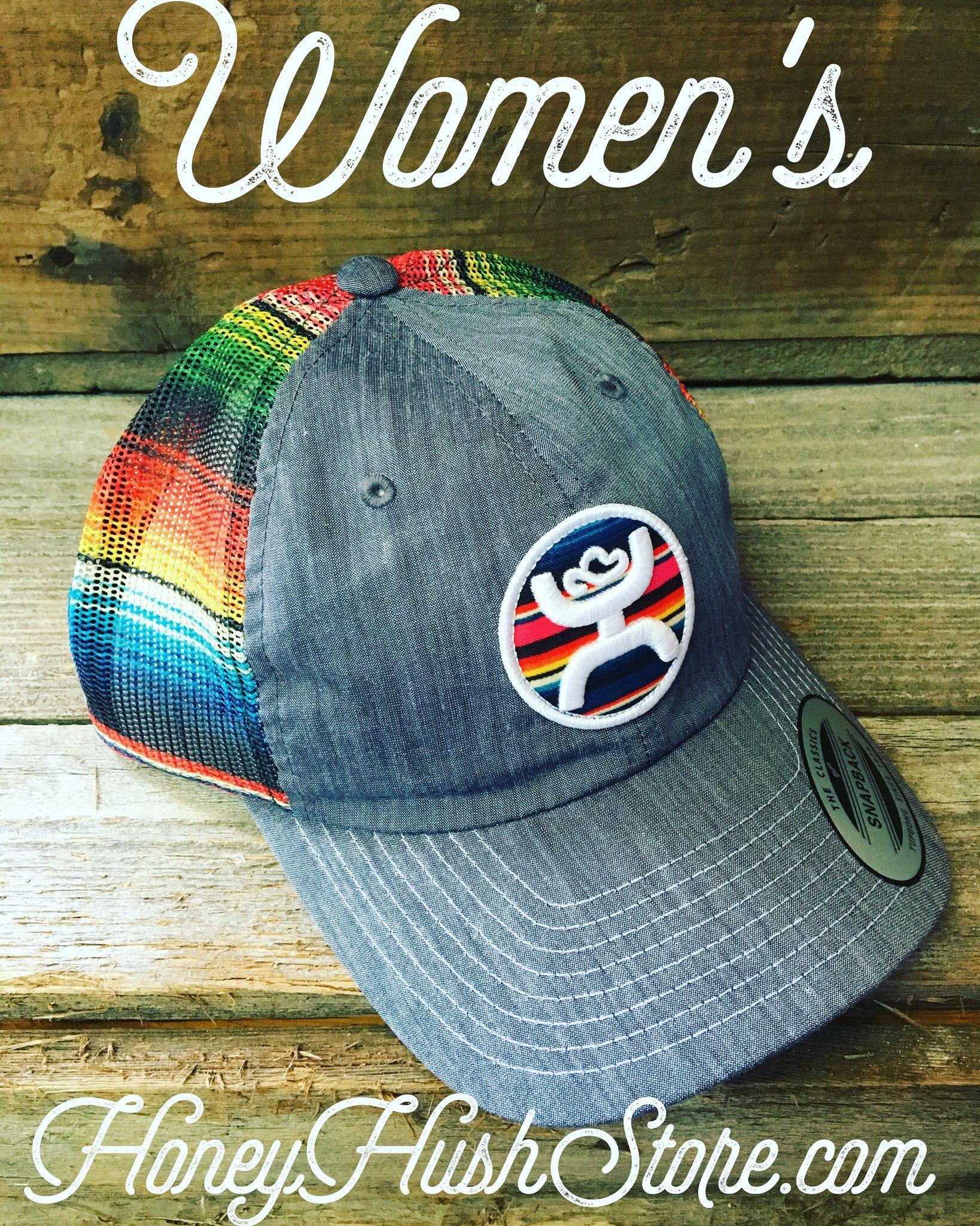 Serape colors in this beautiful Hooey cap for women.  7821fde71c5e