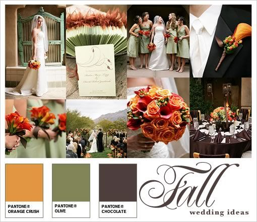 wedding color ideas for august wedding | Posts tagged with Fall ...