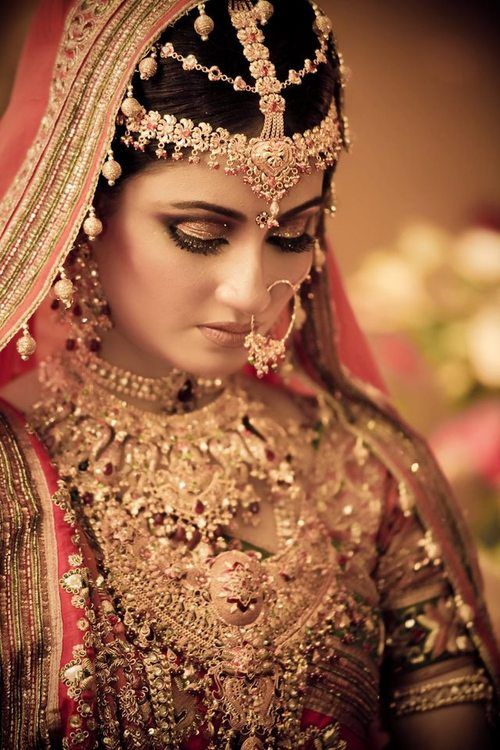 Indian Bride gold jewelry nose ring earrings tikka ZZ EXCOTIC