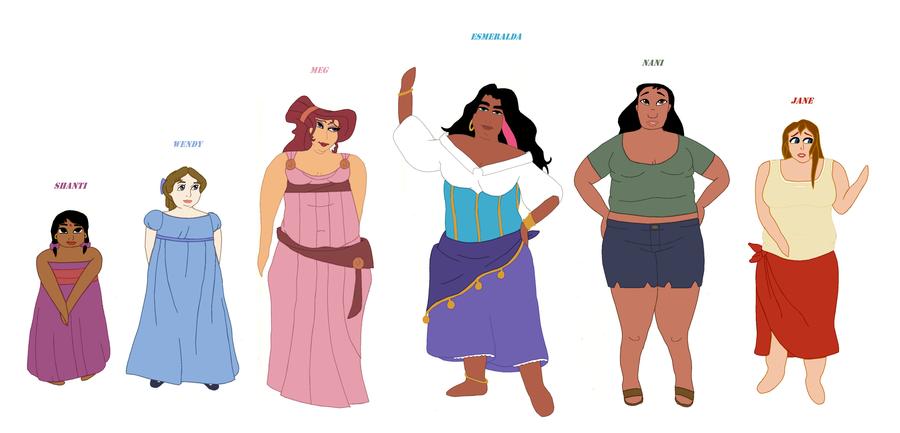 Plus Size Disney Princess | Plus Size Disney Females by ...
