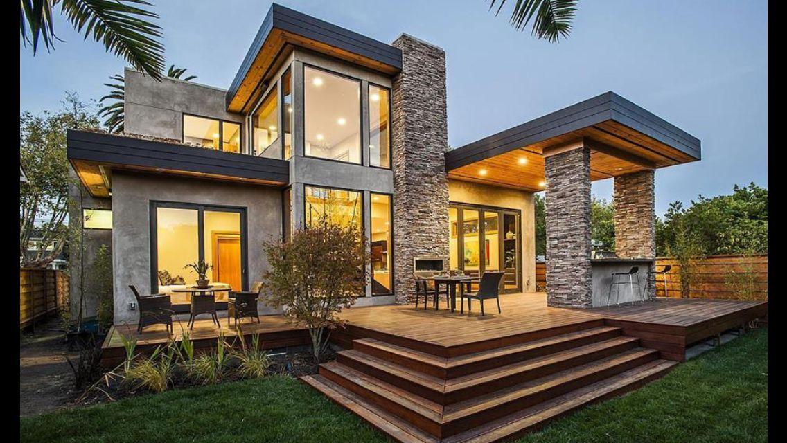 Stunning... | Maison moderne, Maison modulaire et Façade ...