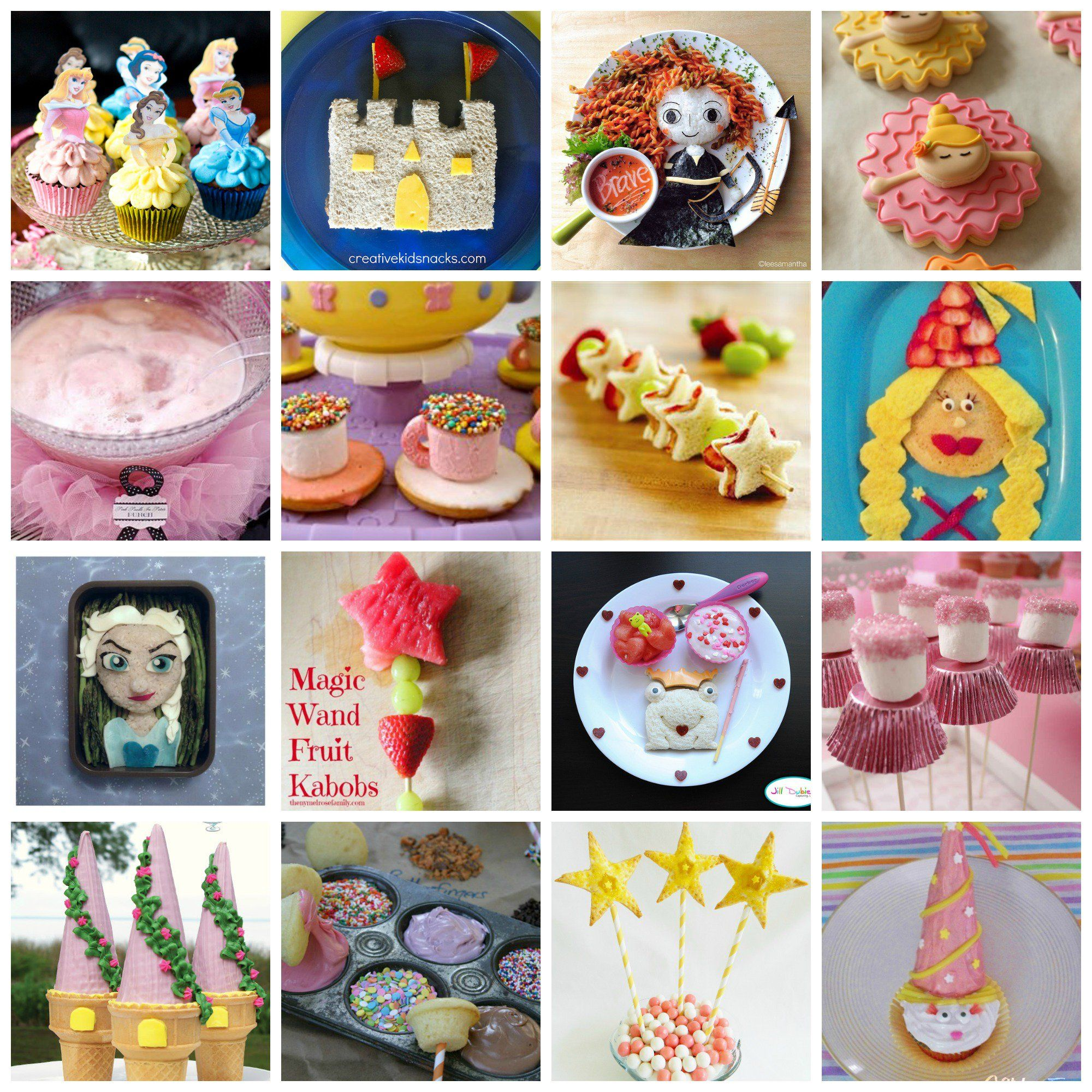 Birthday Party Dinner Menu Ideas Part - 47: Princess Party U0026 Fun Food Ideas