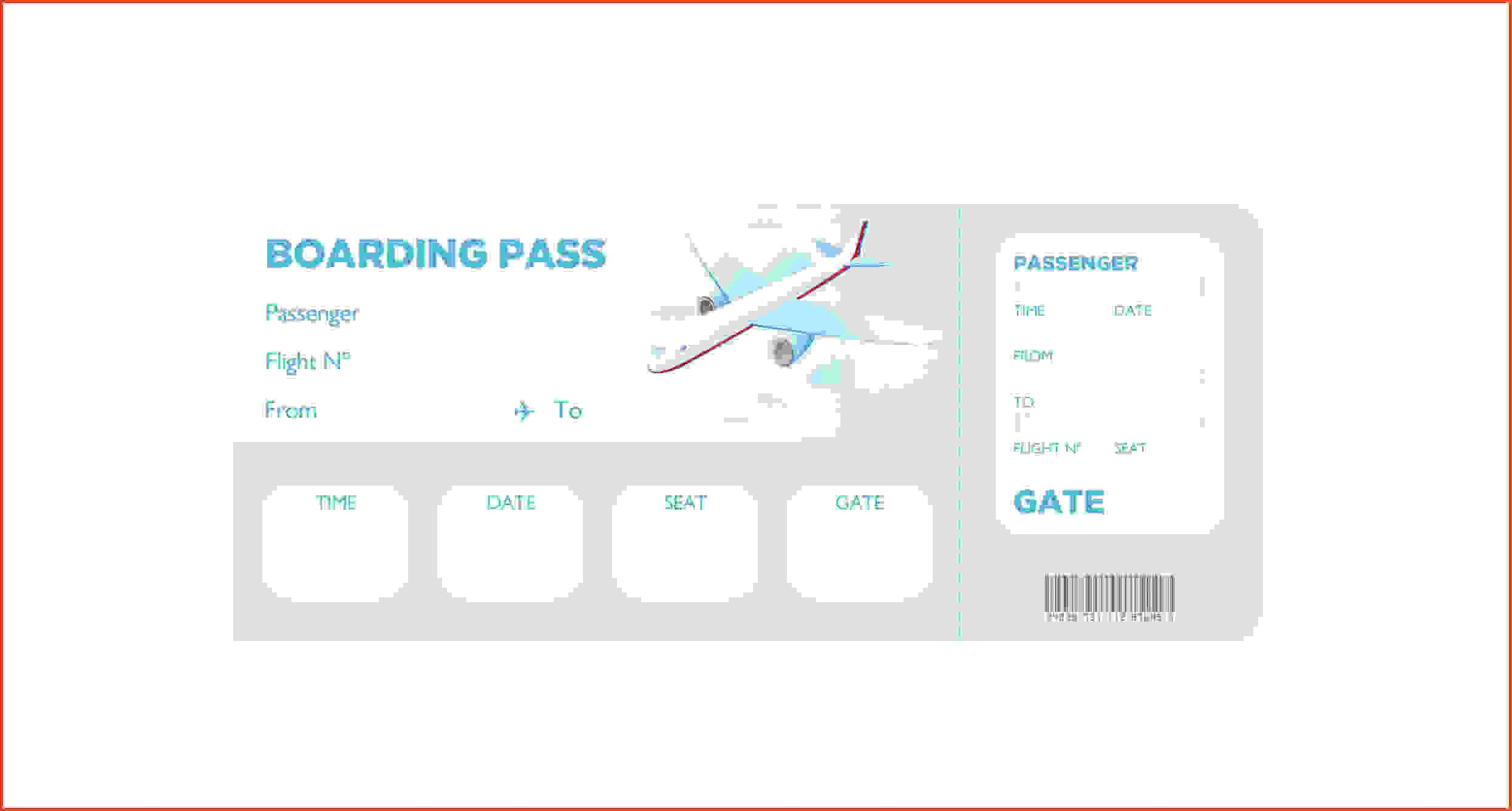 Boarding Pass Template Boarding Pass Template Free 16 Real Fake Boarding Pass Templates By Gtsak Info Boarding Pass Template Surprise Vacation Templates